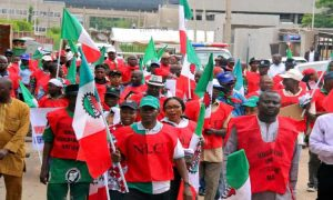 NLC march 300x180 - NLC Tackles FG On Fuel Price Increase, Reveals What They'll Do