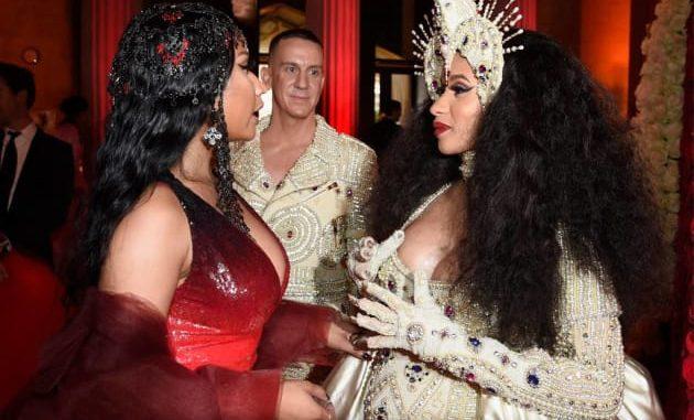 Nicki Minaj and Cardi B fight in New York