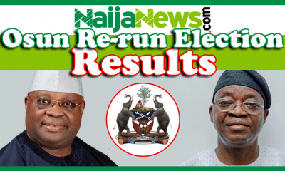 Osun Rerun Election Result
