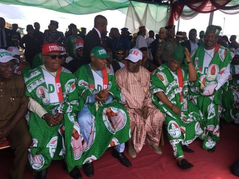 PDP rally - PDP Meet Lawmakers Over 9th National Assembly Leadership