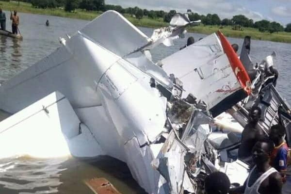 Tragedy as plane crashes into river, kills six
