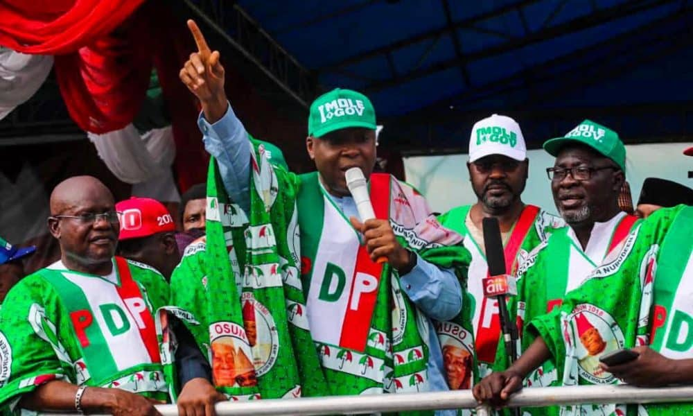 Saraki PDP 1000x600 - Rivers Rerun Elections: PDP Wins State Assembly Seats