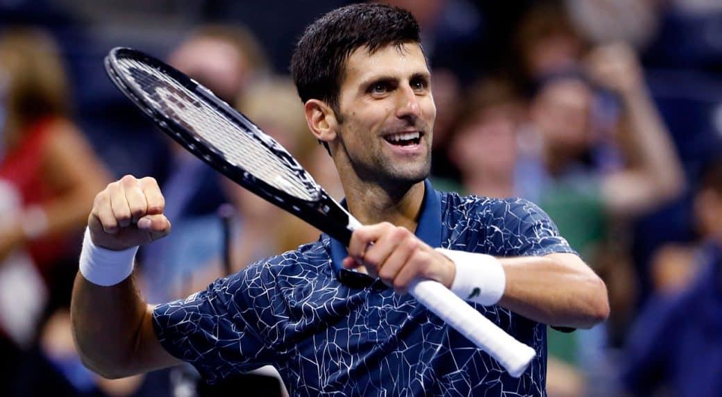 Novak Djokovic leads US Open final