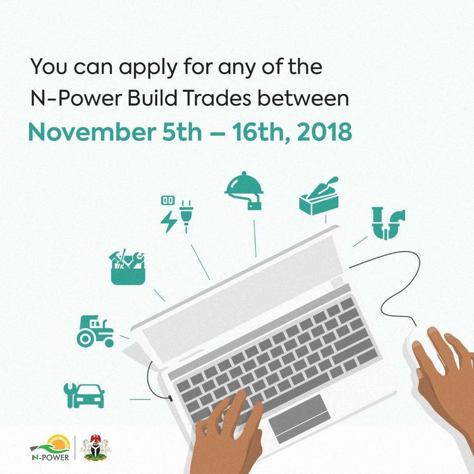 N-Power Opens Portal For Fresh Applicants, See How To Apply