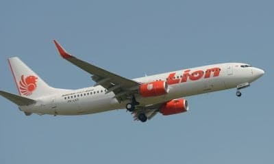 An aircraft of the Indonesian airline Lion Air (illustration). – Adek BERRY AFP