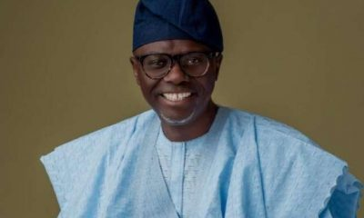 Sanwo-Olu sworn in as Lagos State Governor