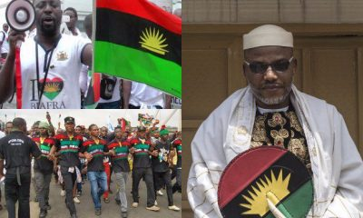 Biafra: Nnamdi Kanu Reveals 'Real Reason' For Death Of 21 IPOB Members In Enugu
