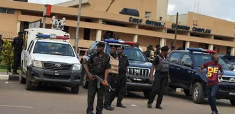 BREAKING: Police Storm Edo State Assembly | Naija News