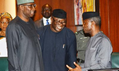 Group Accuses Fayemi Of Lobbying To Replace Osinbajo, Plotting Oshiomhole's Sack