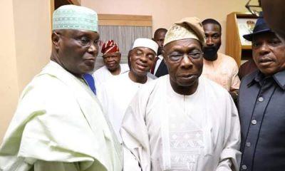 Obasanjo, Atiku and Uche Secondus