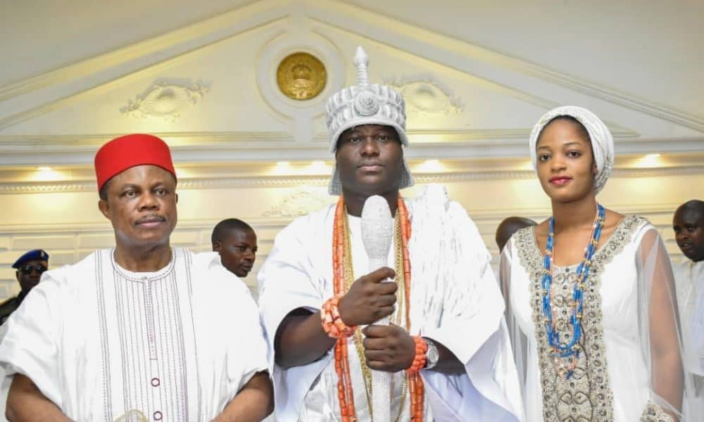Ooni 1000x600 - See What The Ooni of Ife Says About Igbo Nations And Traditions