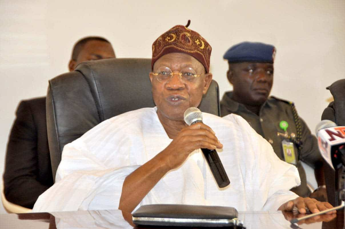 Federal executive council, Lai Mohammed,