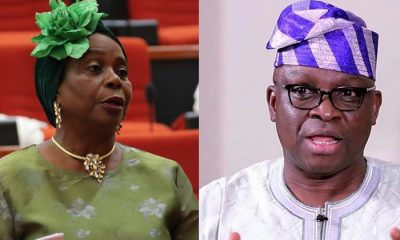Fayose Sidelining Me Because I Am A Woman - Senator Olujimi