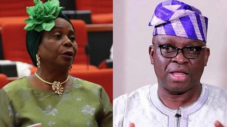 Fayose Sidelining Me Because I Am A Woman - Senator Olujimi