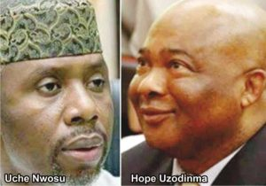 Uzodinma vs nwosu 1 300x210 - Supreme Court To Rule On Removal Of Governor Hope Uzodinma Today