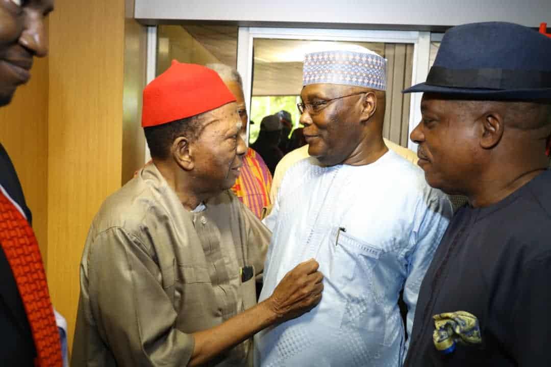 Image result for ATIKU AND IGBO LEADERS