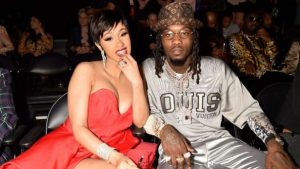 """cardi b offest 300x169 - Cardi B's Husband Calls Her Out For Lying On Her """"WAP"""" Verse"""
