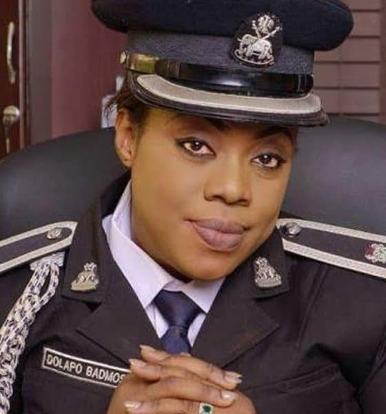 Dolapo Badmus Now Police Force Provost