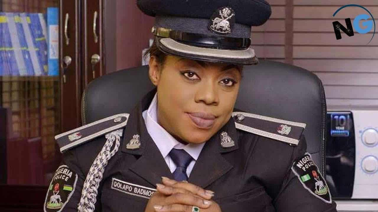 Dolapo Badmus Now Police Force Provost