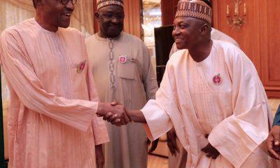President Buhari and Mallam Garba Shehu