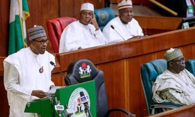 President Buhari at 2019 budget presentation