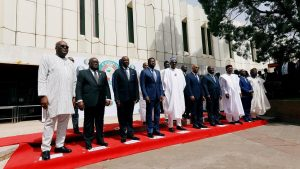 Ecowas Presidents 300x169 - ECOWAS Leaders Sets up Committee to Look into Nigeria Border Closure