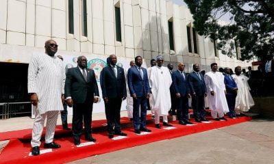 Ecowas Presidents