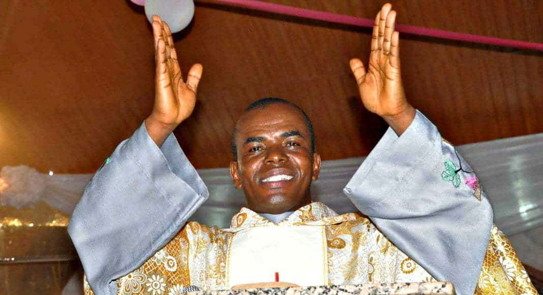Father Mbaka Reveals What He Spends $2m On Monthly