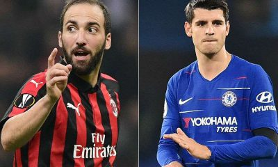 Exchange between Higuaín and Morata would be on loan, with option to buy for Milan and Chelsea