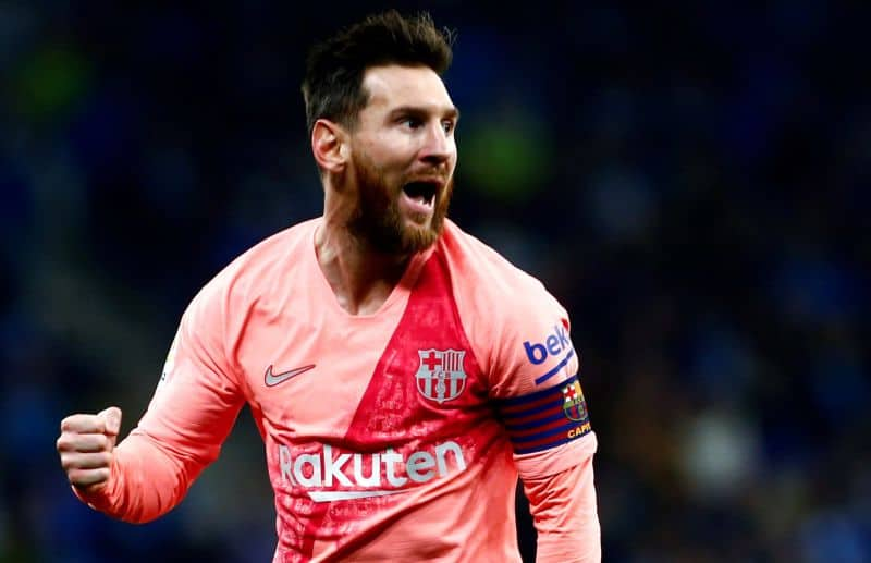 Messi scored twice in the derby with Espanyol - Lionel Messi Set To Return To Argentina Squad For The First Time Since Russia World Cup