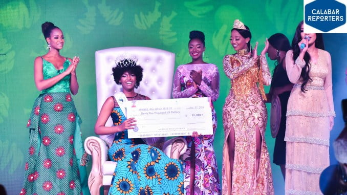 Miss Congo Emerges Winner Of Miss African Beauty Pageant | Nigeria News