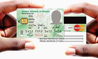 NIMC-CARD National Identity card