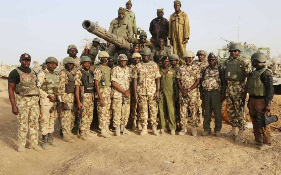nigerian army 960x600 - 20 Soldiers Wounded As Troops Kill 39 Boko Haram Terrorists