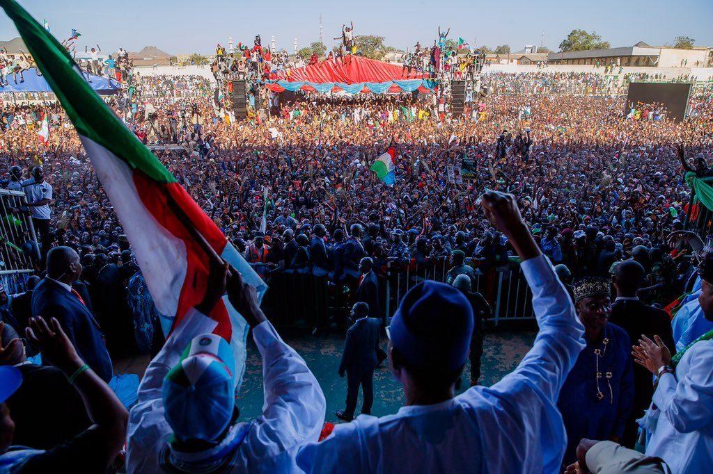 APC Rally Campaign Buhari