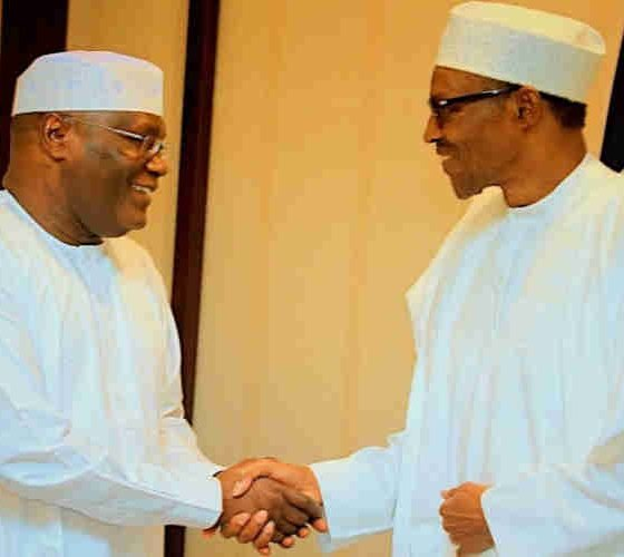 I'll Floor You With Or Without US Trip- Atiku Tells Buhari