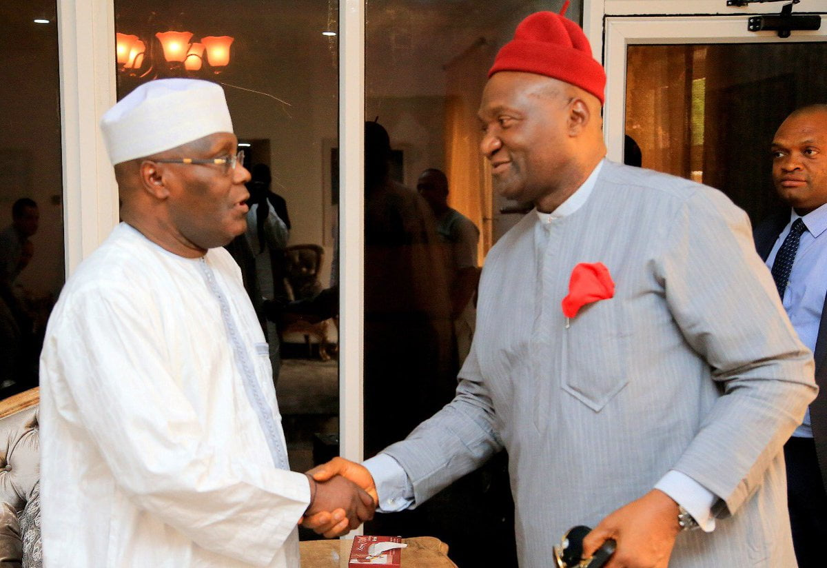 Finally, Ohanaeze Endorses PDP's Atiku, Gives Reasons