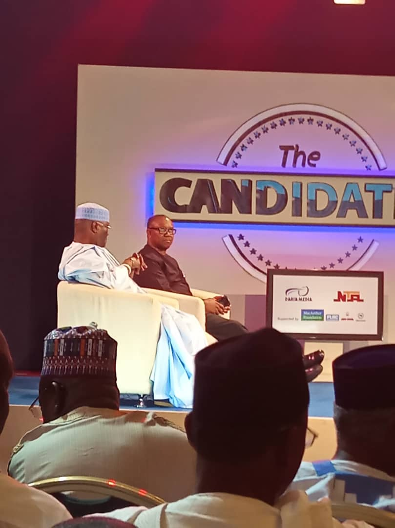 Nigerians React To Atiku And Obi Performance At The Candidates