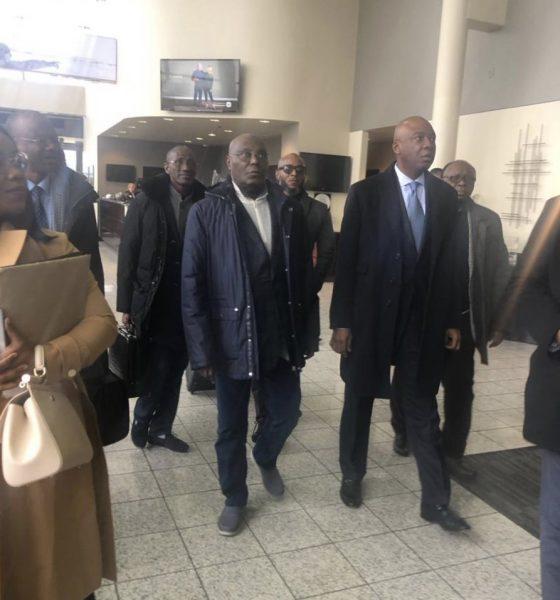 Nigerians Melt Twitter As PDP's Atiku Finally Enters United States