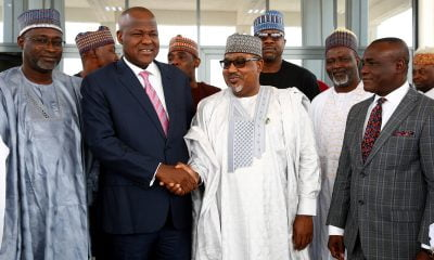 ICAN Delegation Pay Speaker Dogara A Courtesy Visit (Photos)