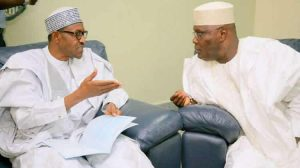 What Buhari Told Atiku After Mother-In-Law's Death