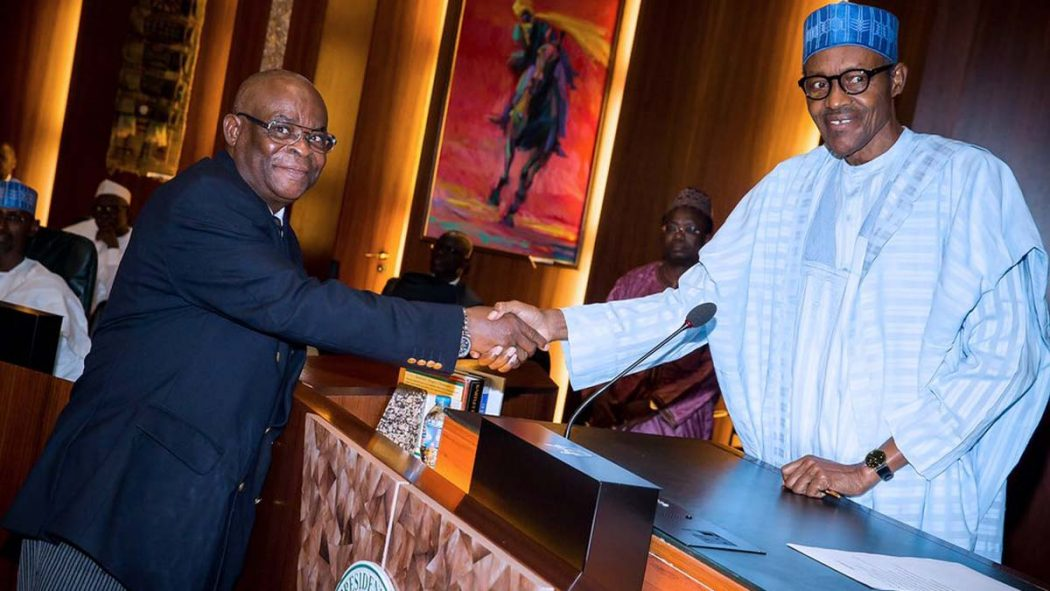 Breaking: Buhari Govt Orders CJN Onnoghen To Vacate Office