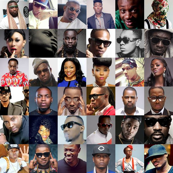 Collage Image of Nigerian Celebrities 600x600 - Latest Entertainment News For Tuesday, July 8th, 2019