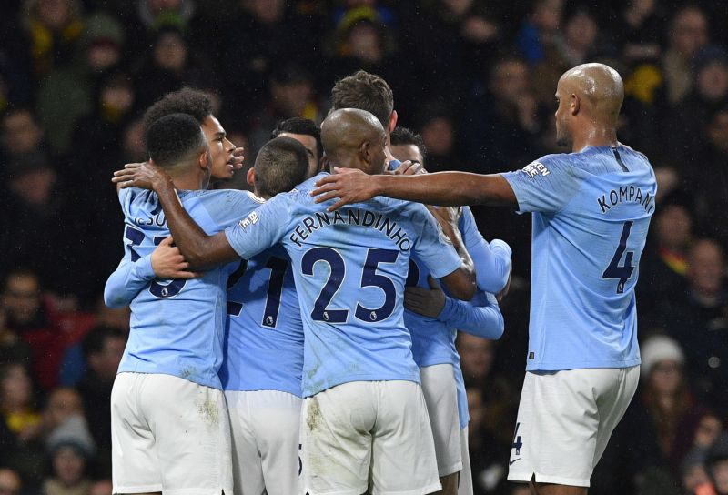 City beat Tottenham