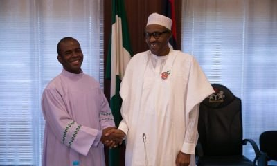 Father Mbaka Releases 'Dangerous Prophecy', Knocks PDP, Favours President Buhari