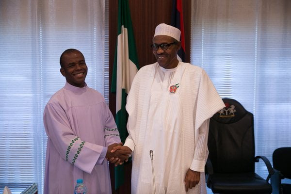 Mbaka Speaks On Anger Of God On Buhari, Resigning From Priesthood
