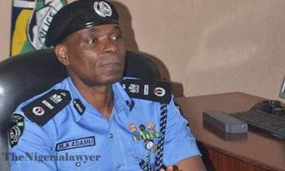 See What IGP Adamu Promised To Do For Police Officers