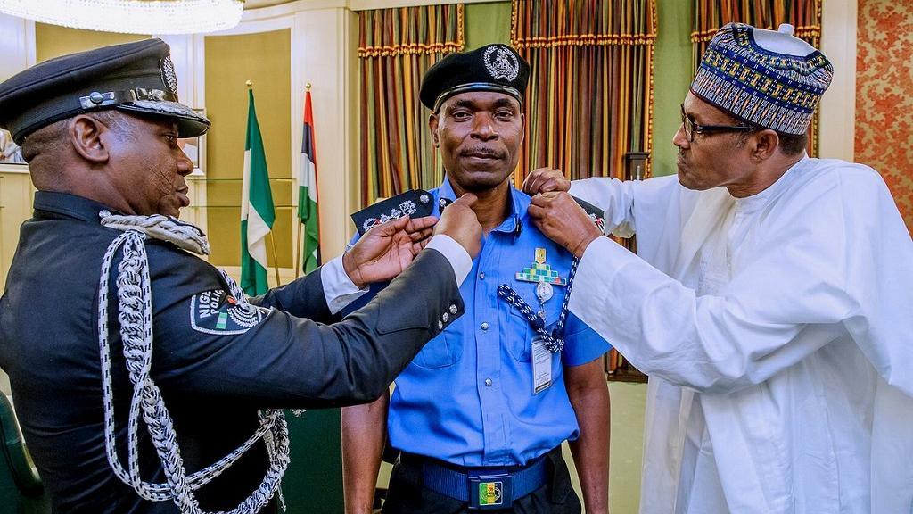Nigeria's Acting Inspector General of Police, Abubakar Mohammed Adamu