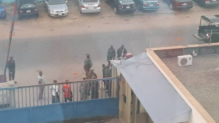 Armed soldiers shut down Daily Trust offices in Borno, Kaduna and Abuja