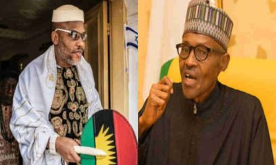 Biafra: Nnamdi Kanu Blasts Buhari Over Arise TV Interview