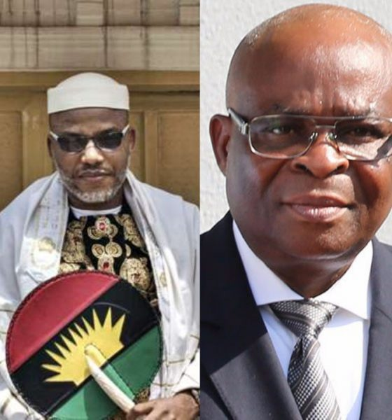 Image result for Nnamdi Kanu Reacts After Buhari Suspends CJN, Walter Onnoghen